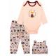 Трикотажный комплект из трех предметов для девочки, цвет светло-розовый