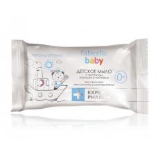 Детское мыло с экстрактами ромашки и чистотела